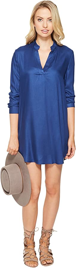 Parley V-Neck Shirtdress