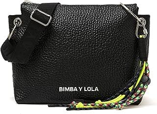 M black leather crossbody bag 192BBGG1I