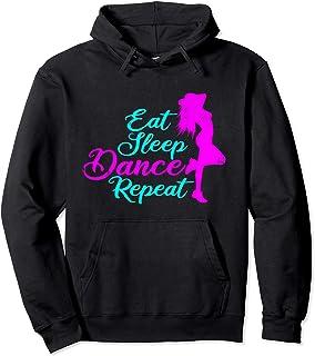 Eat Sleep Dance Repeat regalo divertido para bailarinas Sudadera con Capucha