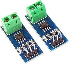 NOYITO ACS712 Current Sensor Module Detector ACS712ELC 5A 20A 30A Amps Amperage Range (Pack of 2) (5A)