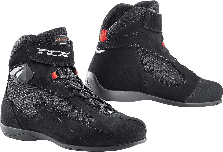 47 TCX Bottes moto PULSE Noir Noir