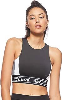 Reebok Womens Workout Ready Meet You There lette Bra Top