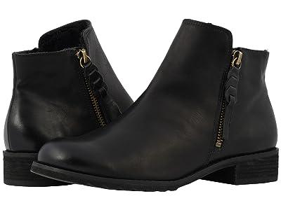 Walking Cradles Kason (Black Rustic Leather) Women
