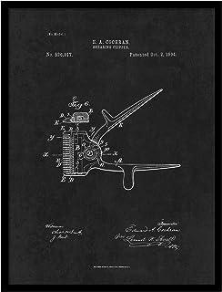 ماكينة قص الحلاق PATENT150035BK-79BK 1894 من Spot Color Art
