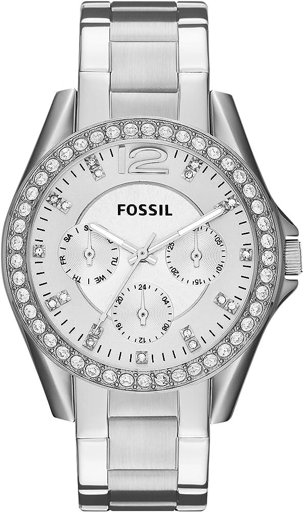 Fossil orologio analogico donna  con cinturino in acciaio inox ES3202