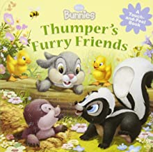Disney Bunnies Thumper's Furry Friends (A Touch-and-feel Book)