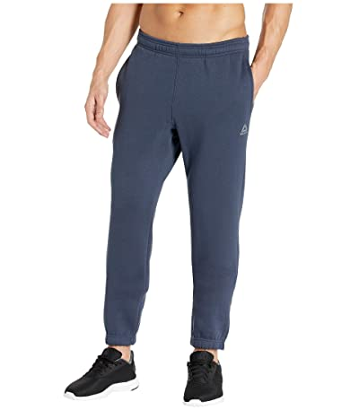 Reebok Training Essentials Fleece Closed Cuff Pants (Heritage Navy) Men