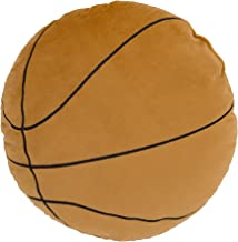 Little Love by NoJo Sports Decorative Pillow - Brown Basketball with Embroidery
