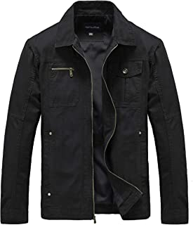 Men's Casual Military Canvas Jacket