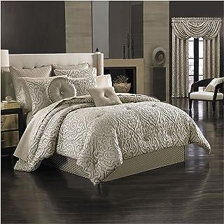 """J. Queen New York """"Astoria"""" Comforter Set in Sand, King"""