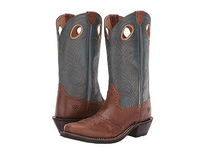 Ariat Heritage Rancher (Sandstorm/Riviera) Cowboy Boots