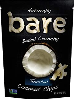 Bare Snacks Toasted Coconut Chips, 3.3 oz