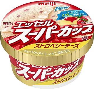 [冷凍] 明治 エッセルスーパーカップ ストロベリーチーズ 200ml