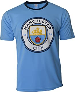 ICON SPORTS Manchester City Soccer Jersey Men's Adult Training Custom Name and Number