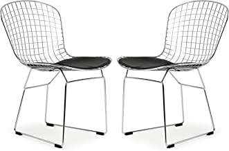 Poly and Bark Morph Side Chair in Black (Set of 2)