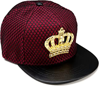 6f5a50381f4 REINDEAR Royal King Crown Baseball Cap Hip-hop Snapback Hat US Seller