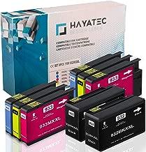 8X Druckerpatronen Komp. Für HP 932 XL 932XL 933 XL 933XL für HP Officejet 6600 6700 6700 Premium 6100 7612 7110 7610 Patronen Tintenpatronen