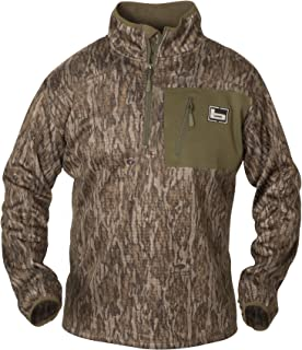 Banded 1/4 Zip Mid Layer Pullover