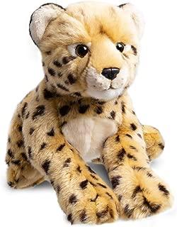 FAO Schwarz Cheetah Cub Stuffed Animal Toy Plush, Ultra Soft & Snuggly Doll for Creative & Imagination Play, 12