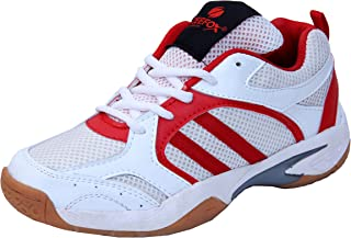 ZEEFOX 3300F Men's PU Badminton Shoes Red