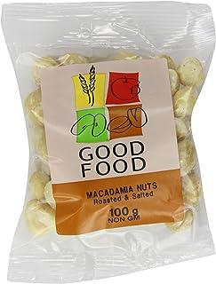 Mintons Good Food Voorverpakte Macadamia-noten geroosterd & gezouten 100 g (Pack van 10)