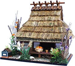 Billy Handmade dollhouse kit Highway series Shuzan highway Thatch private house in Miyama 8616 by Billy 55