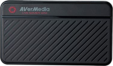 AVerMedia Live Gamer Mini: Full HD 1080P Video Recording, H.264 Hardware Encoder Game Capture Card (GC311)