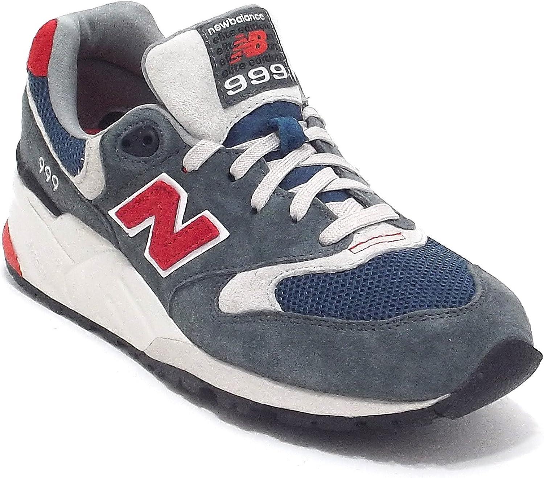 New Balance Scarpe Uomo, ML 999 AD, Sneakers in camoscio e Tessuto ...