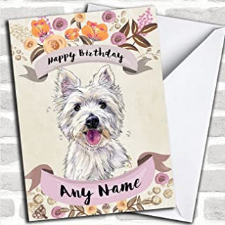 Best west highland terrier birthday cards Reviews