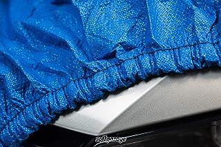 SOFTGARAGE 3 lagig blau Indoor Outdoor atmungsaktiv wasserabweisend Car Cover Vollgarage Ganzgarage Autoplane Autoabdeckung 204030 7967309