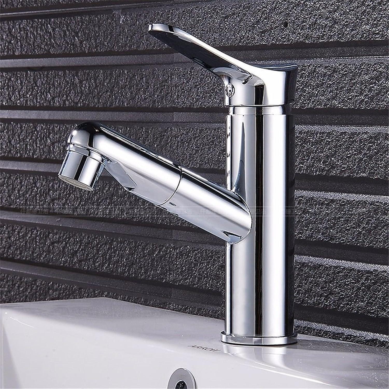Bijjaladeva Antique Bathroom Rain Mixer Shower tap Set Rainfall Shower faucet system Pull basin cold water tap to wash and shower-copper toilet retractable hand wash basin basin mixer