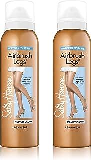 Sally Hansen Air Brush Legs Medium Glow - Duo Pack, 4.4 Ounce (Pack of 2)