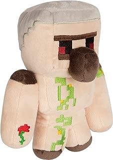 JINX Minecraft Happy Explorer Iron Golem Plush Stuffed Toy, Multi-Colored, 7