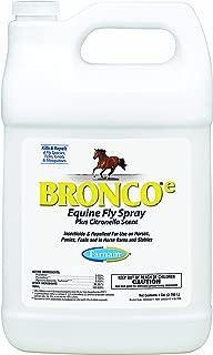 FARNAM CO (BRONCO) 100502327 BRONCO E EQUINE FLY SPRAY CITRONELLA 128 OUNCE