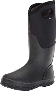 Bogs Womens Classic High Handle Waterproof Insulated Rain and Winter Snow Boot