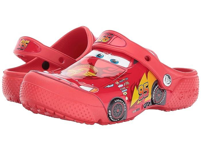 64e7bc49cdd Crocs Kids CrocsFunLab Cars Lightning McQueen Clog (Toddler/Little Kid)