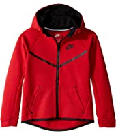 Nike Kids - Tech Fleece Full Zip Hoodie (Little Kids)