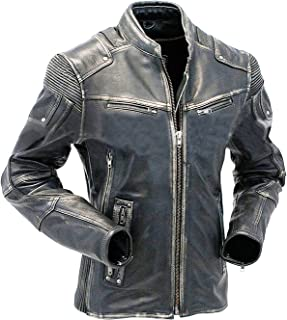 Men's Vintage Cafe Racer Stylish Leather Jackets Collections | Motorcycle Real Leather Jacket Men