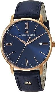 Maurice Lacroix - Reloj Analógico para Hombre de Cuarzo con Correa en Cuero EL1118-PVP01-411-1