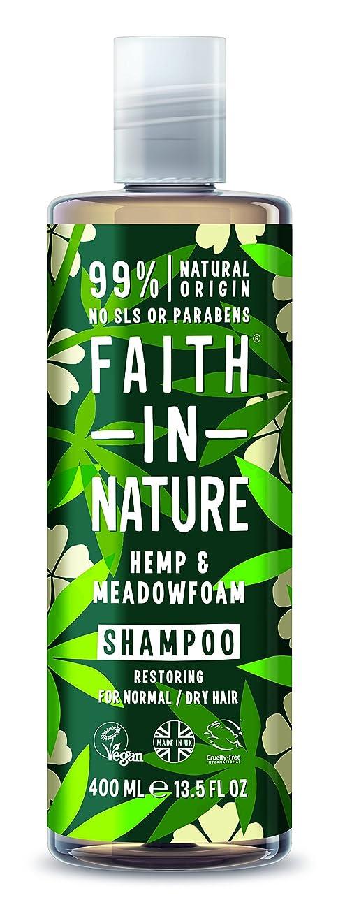 どうやってもっともらしいさておきFaith In Nature Hemp & Meadowfoam Conditioner For Normal to Dry Hair 400ml
