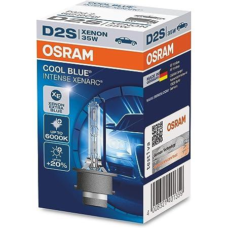 lampada a scarica 1 lampada OSRAM XENARC ORIGINAL D2S bulbo allo xeno qualit/à OEM 66240-1SCB astuccio appendibile