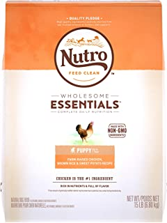 NUTRO WHOLESOME ESSENTIALS Puppy Dry Dog Food, Chicken