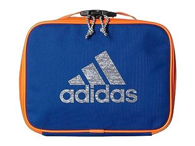 adidas Kids Foundation Lunch Bag (Little Kids/Big Kids) (Collegiate Royal/Solar Orange) Bags