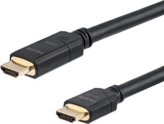 StarTech.com 80 ft Active High Speed HDMI Cable - Ultra HD 4k x 2k HDMI Cable - HDMI to HDMI M/M - 80ft 1080p HDMI Cable -...