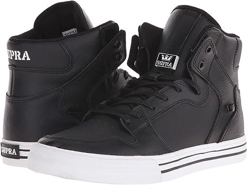 Black/White/Leather