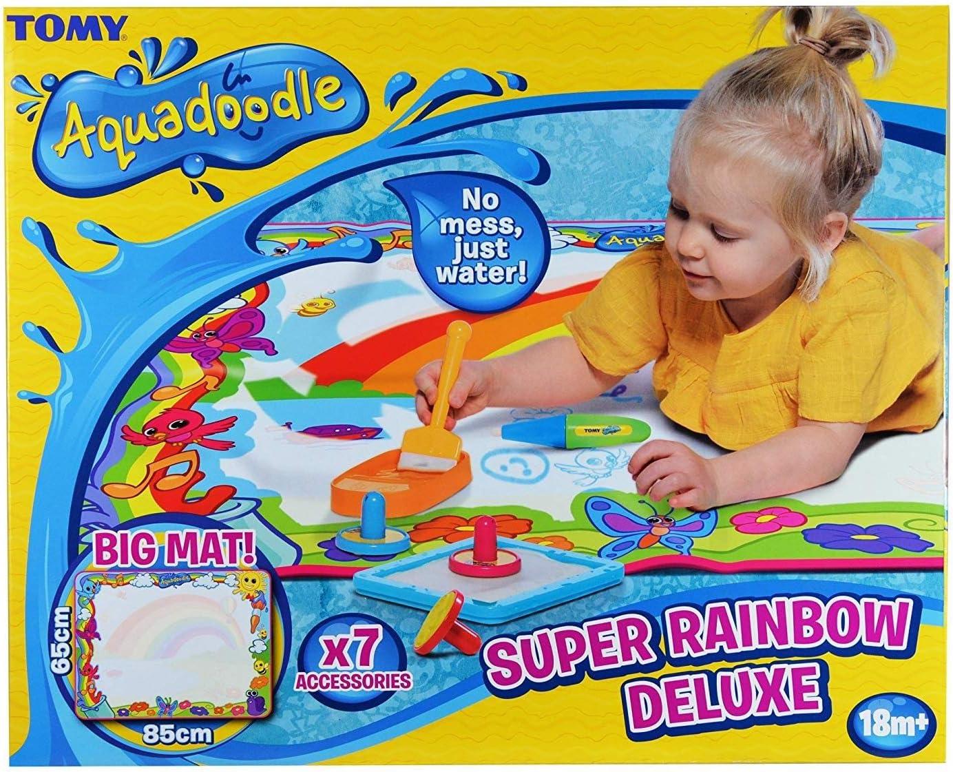 AquaDoodle E72772 Aquedadle E72772 Súper Rainbow Deluxe, Multicolor, Multicolor