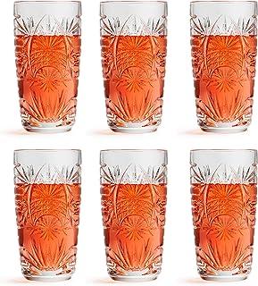 Libbey Longdrinkglas Atik – 27 cl / 270 ml – 6er-Set – spülmaschinenbeständig – Vintage Design – hohe Qualität