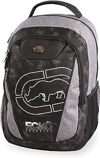 Ecko Unltd. Boys' Block Laptop & Tablet Backpack-School Bag Fits Up to 15 Inch Laptop, Heather/Black, One Size