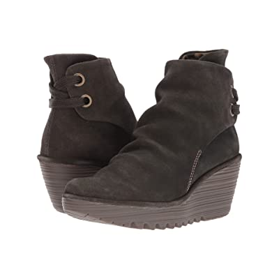 FLY LONDON Yama (Sludge Oil Suede) Women
