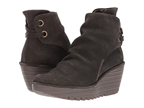 Cupido Noir London Fly Griffondiesel Suedesludge Daim D'huile Anthracite Yama 6qIdwdE